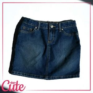 Children's Place Slim Denim Skirt